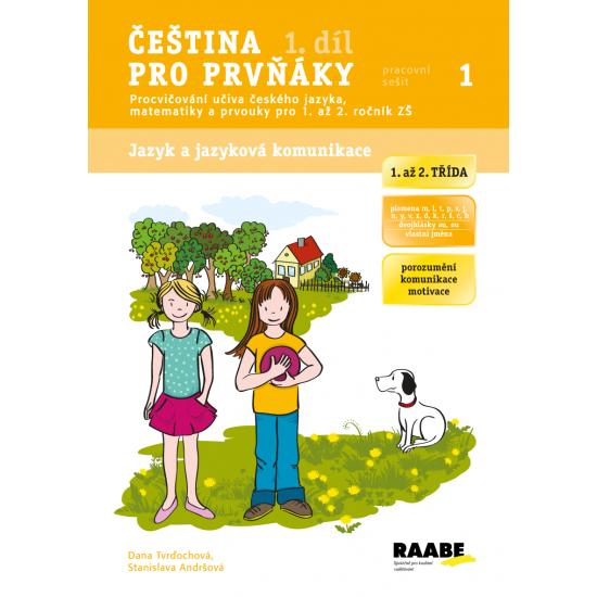 Čeština pro prvňáky - 1. díl - 1. ročník ZŠ