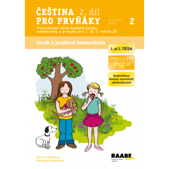 Pracovní sešit Čeština pro prvňáky 2. díl
