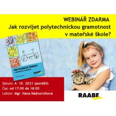 Jak rozvíjet polytechnickou gramotnost v MŠ?| Lektorka webináře: Mgr. Hana Nádvorníková
