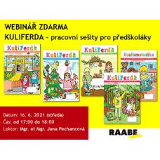 Kuliferda - SADA pracovních sešitů pro předškoláky | Lektorka webináře: Mgr. Jana Pechancová