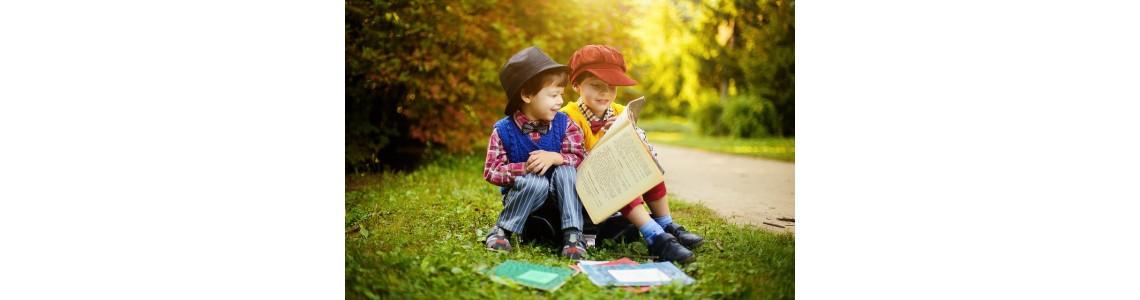 Nácvik čtenářské gramotnosti podle věku aneb Naučte děti milovat knihy!