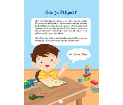 Poutavý příběh, tvořivé úlohy a užitečné informace - to je PS Filípek a zavřená školka