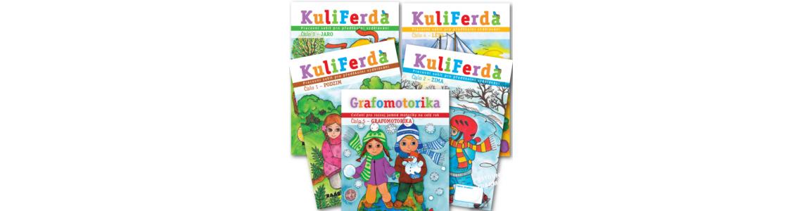 Pracovní sešity KuliFerda pro rozvoj předškoláků v mateřských školách