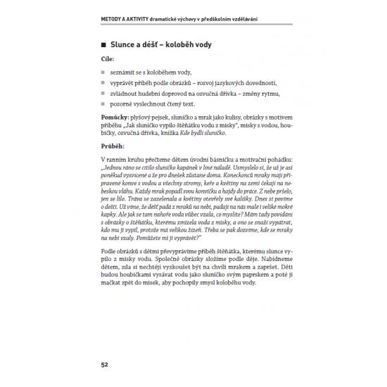 Metody a aktivity dramatické výchovy v předškolním vzdělávání