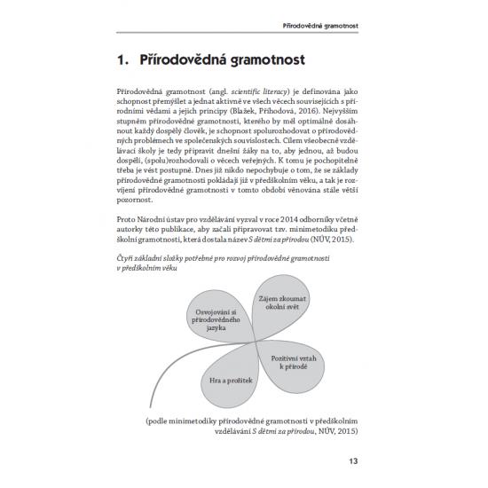 Činnosti k rozvíjení přírodovědné gramotnosti v předškolním vzdělávání