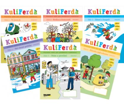 Příprava na školu hravou formou s pracovními sešity Kuliferda