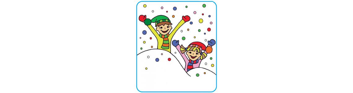 Hrajeme si na sněhu a v tělocvičně