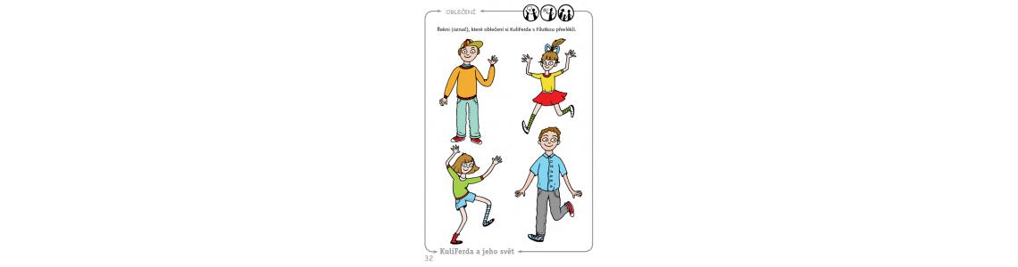 Předškolák s SVP a praktická příručka s pracovními listy a metodickými pokyny