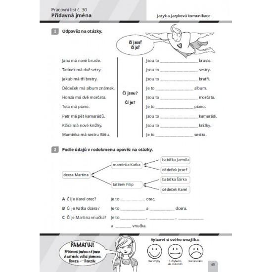 Procvičování učiva pro 5. ročník ZŠ