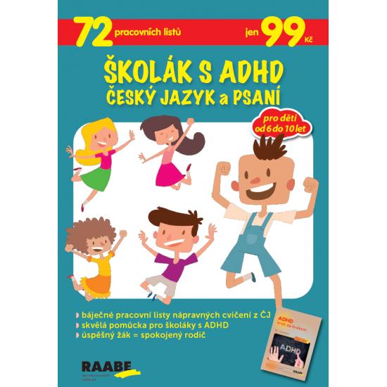Školák s ADHD - Český jazyk a psaní