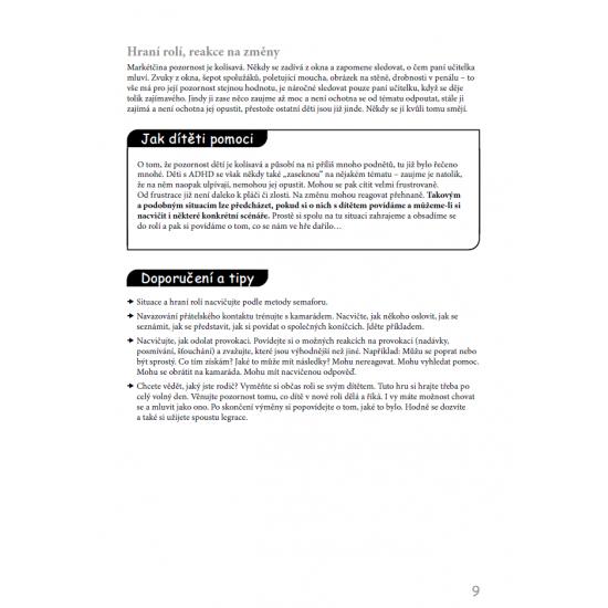 Školák s ADHD - Vztahy a sociální dovednosti