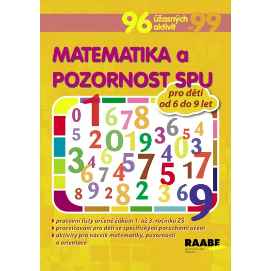 Matematika a pozornost pro žáky s SPU