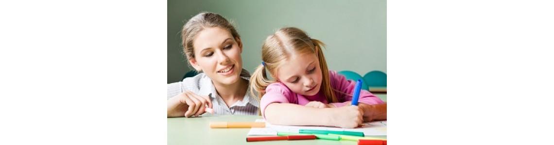 Koncepce pracovních sešitů pro děti s SVP