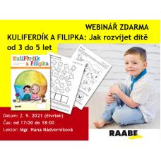 KuliFerdík a Filipka - Jak rozvíjet dítě ve věku od 3 do 5 let | Lektorka webináře: Mgr. Hana Nádvorníková
