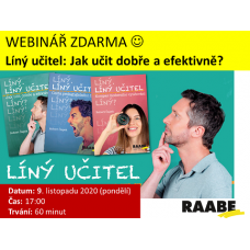Líný učitel – Jak učit dobře a efektivně - 1. díl | 09.11.2020