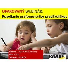 Rozvíjení grafomotoriky u předškoláků | Lektorka webináře: Mgr. Zuzana Grmanová